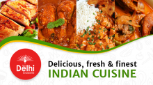 Delicious fresh and finest indian cuisine