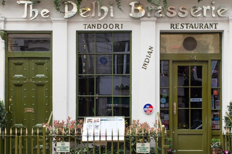 Contact Delhi Brasserie Indian Restaurant in Soho London