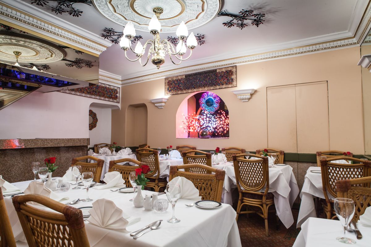 Delhi Brasserie Indian Restaurant Soho - Interior view