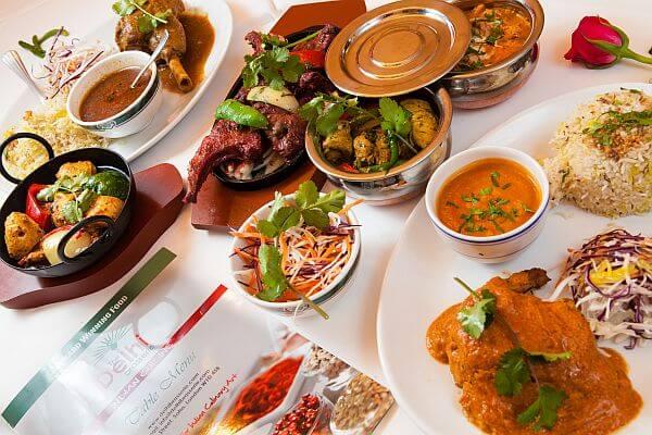 Sample Menu for Delhi Brasserie Indian Restaurant Soho